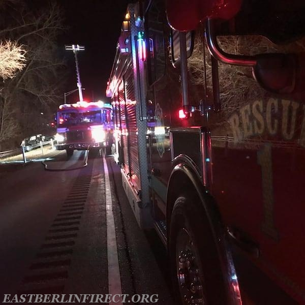 Accident Rt 9 Northbound - East Berlin Volunteer Fire Department